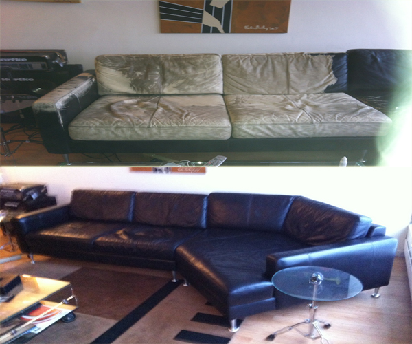 professional furniture disassembly couch service before and after pictures. Black Bedroom Furniture Sets. Home Design Ideas